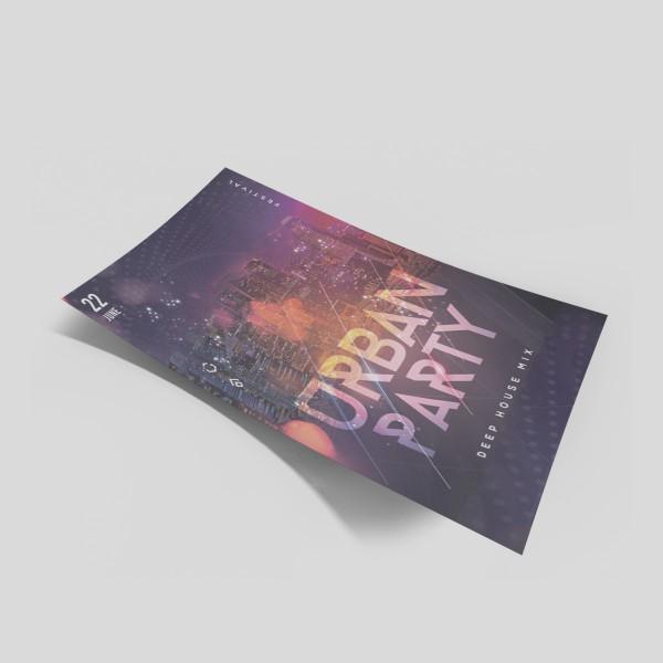 Flyer per promozione Eventi