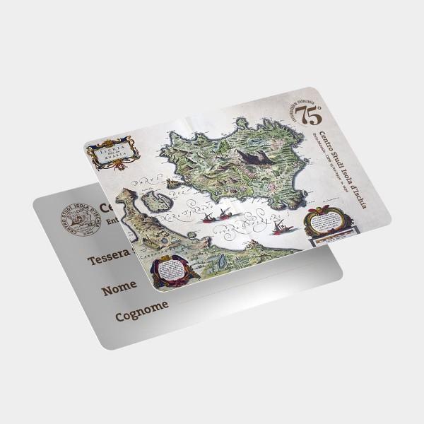 Tessere in pvc, argento