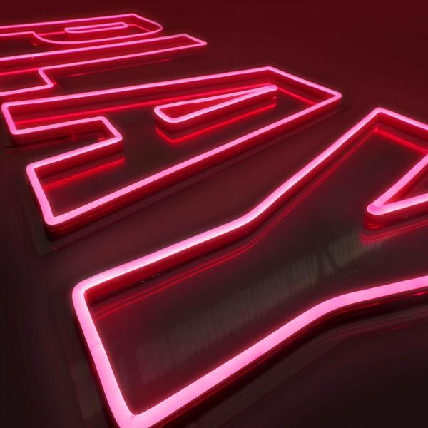 Neon a doppia fila